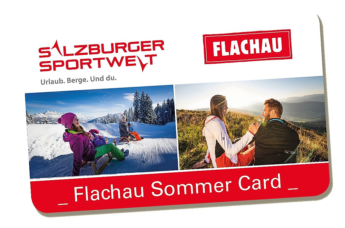 <p>Sujet Flachau summer card</p>