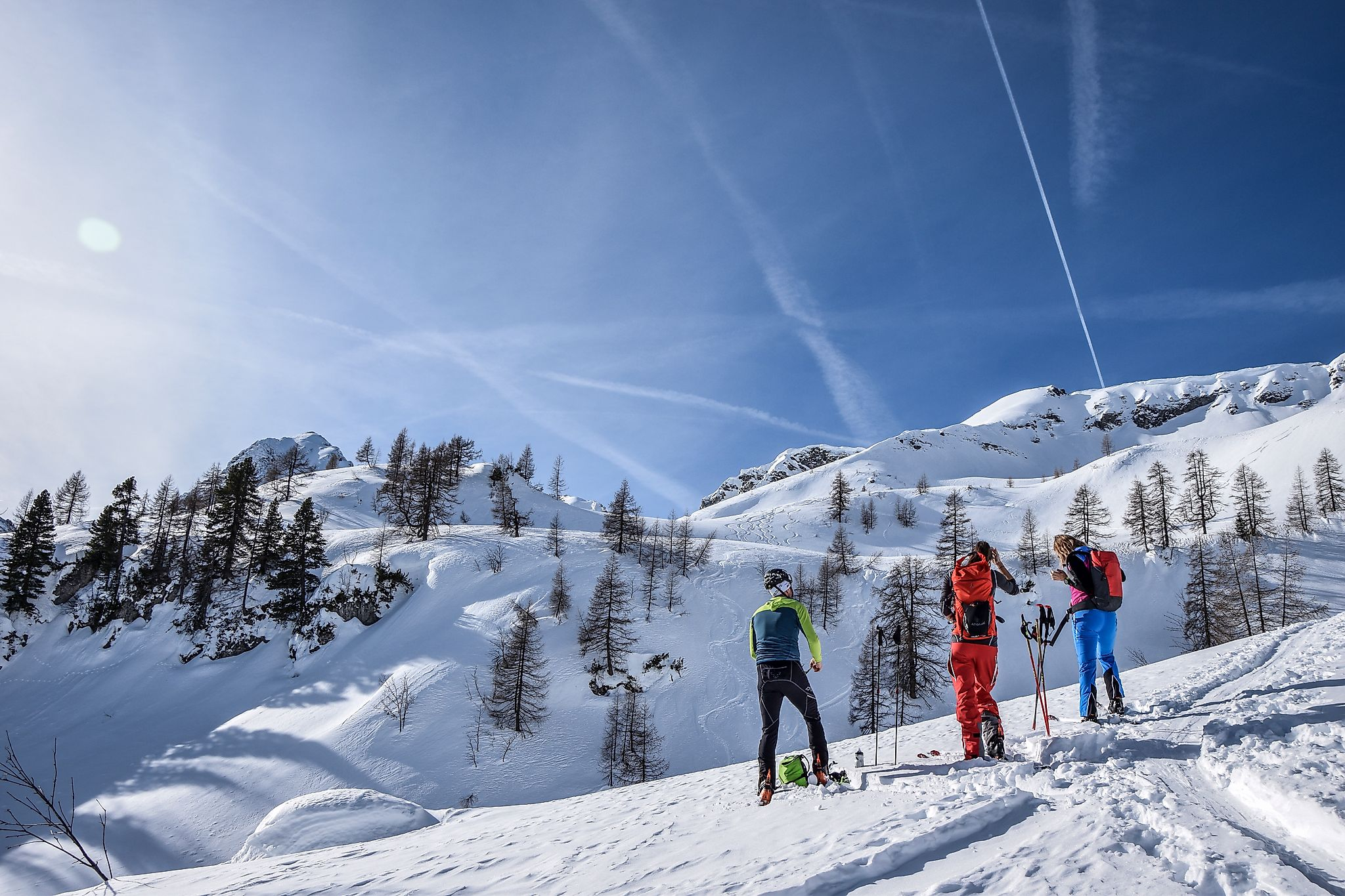 <p>Traum Skitour aufs Liebeseck. Ein Genuss für Outdoorfans</p>