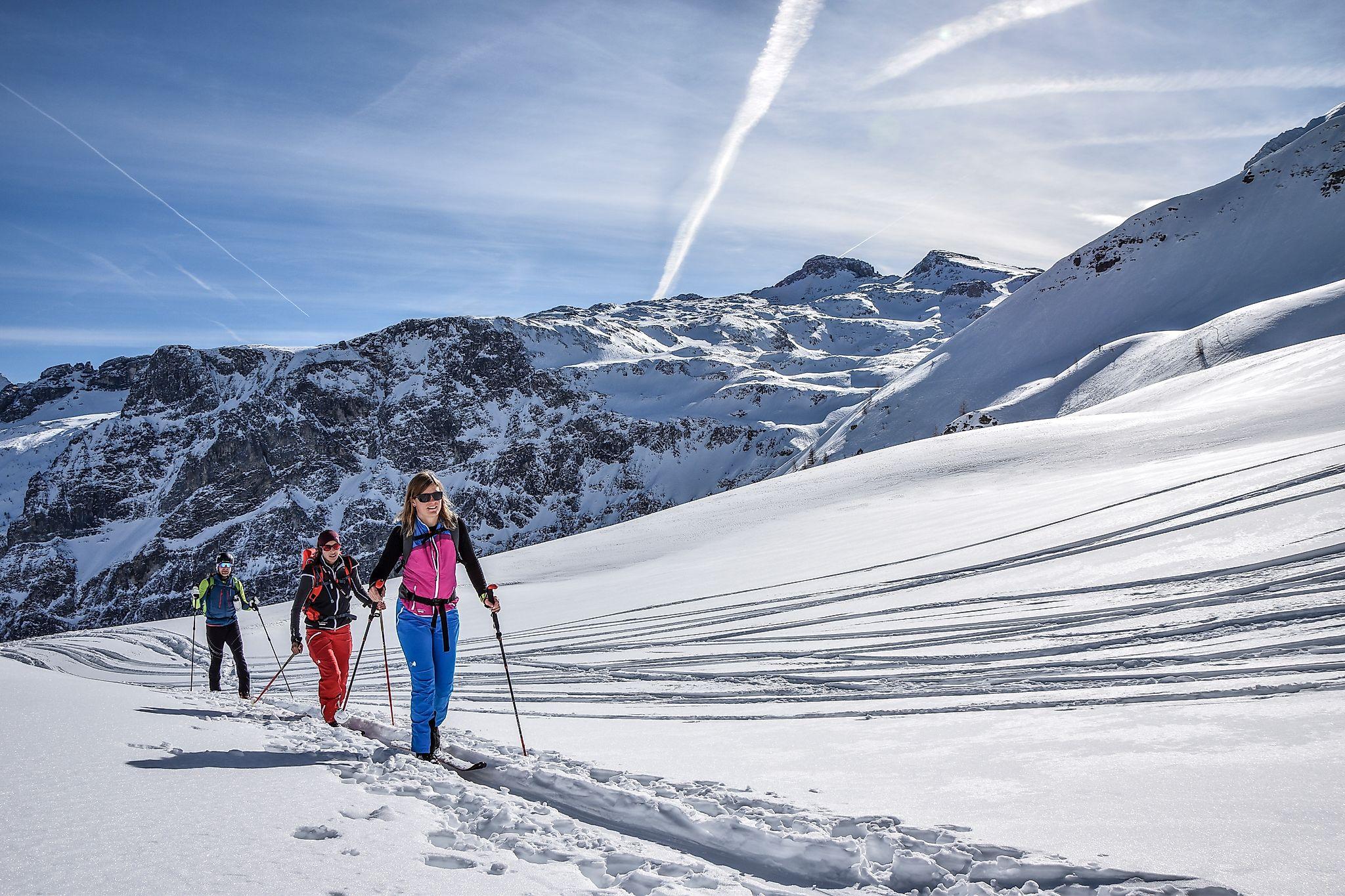 <p>Schöne Skitour hinauf aufs Liebeseck in Flachauwinkl. Ein echtes Highlight</p>