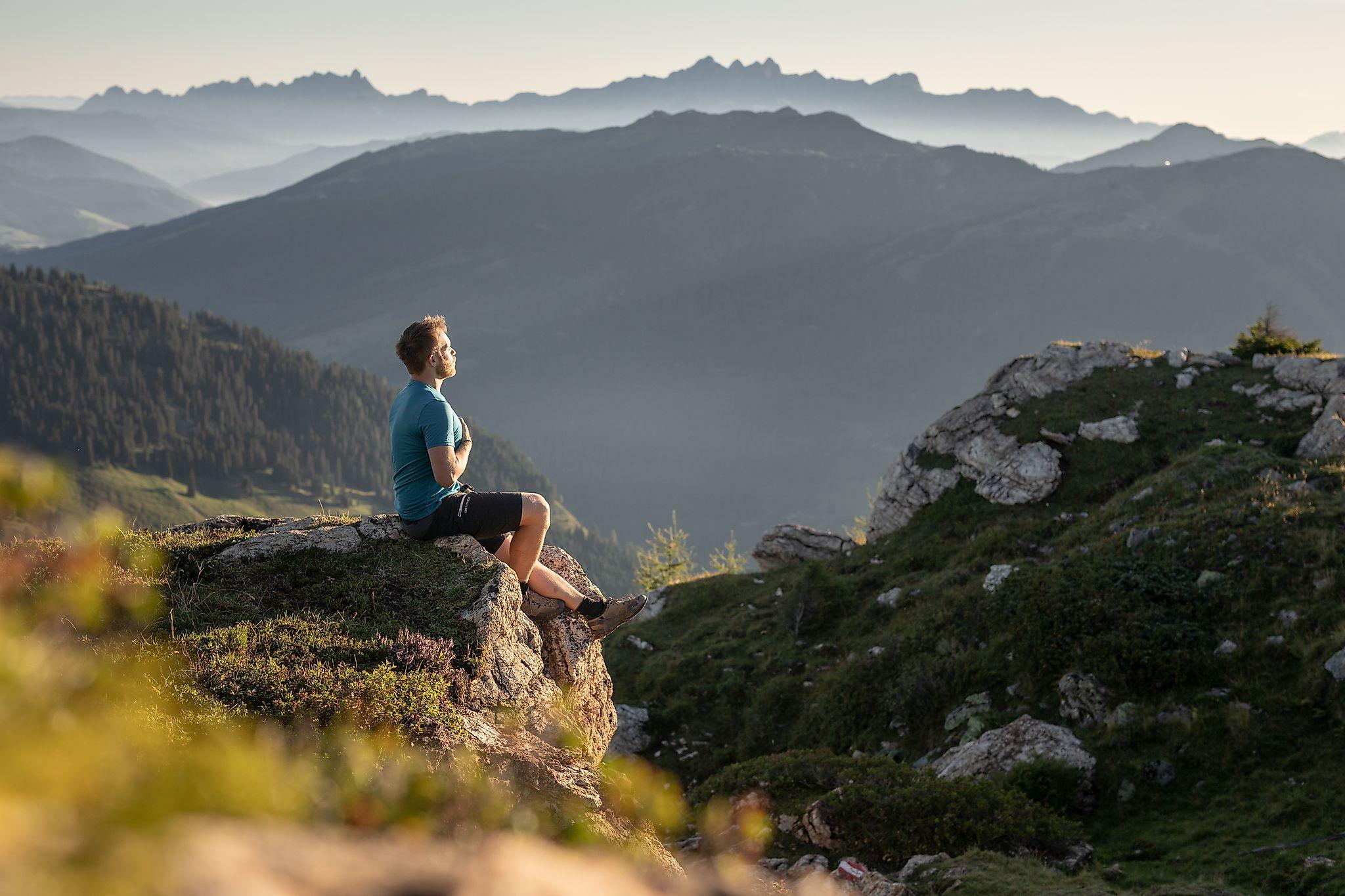 <p>Salzburg summit game - Penkkopf - pause, enjoy nature</p>