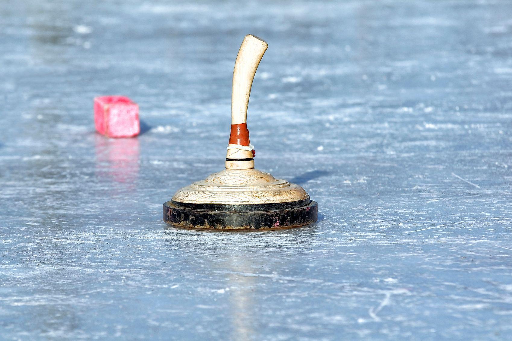 <p>Bavarian curling, a traditional, fun winter sport</p>