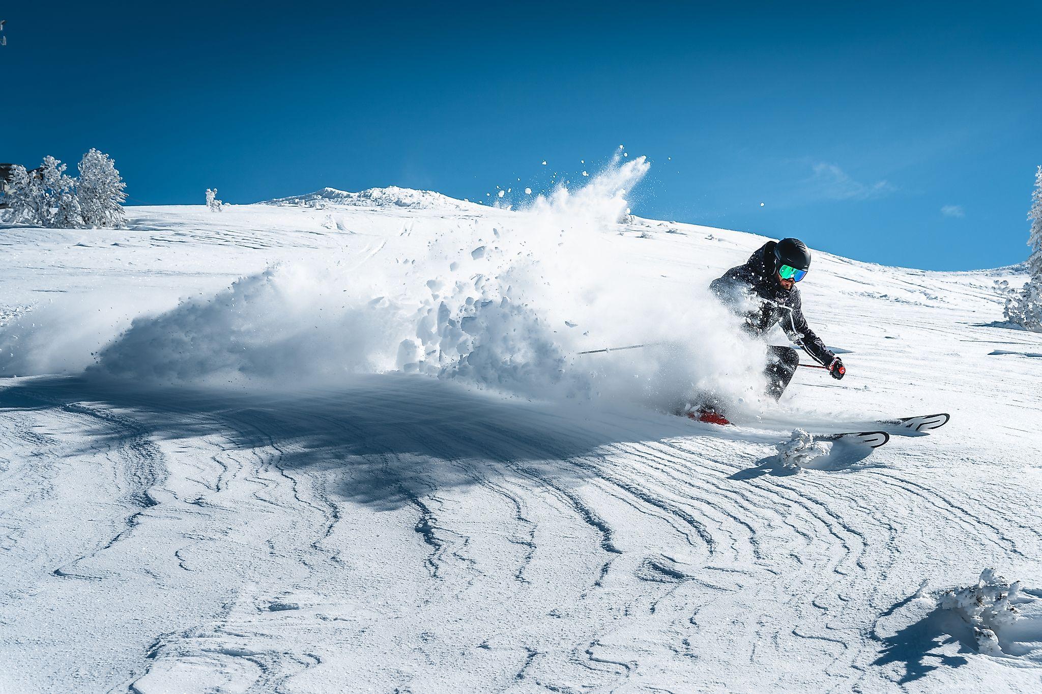 <p>Das Skiparadies Zauchensee lässt auch die Herzen aller Freerider-Fans höher schlagen.</p>
