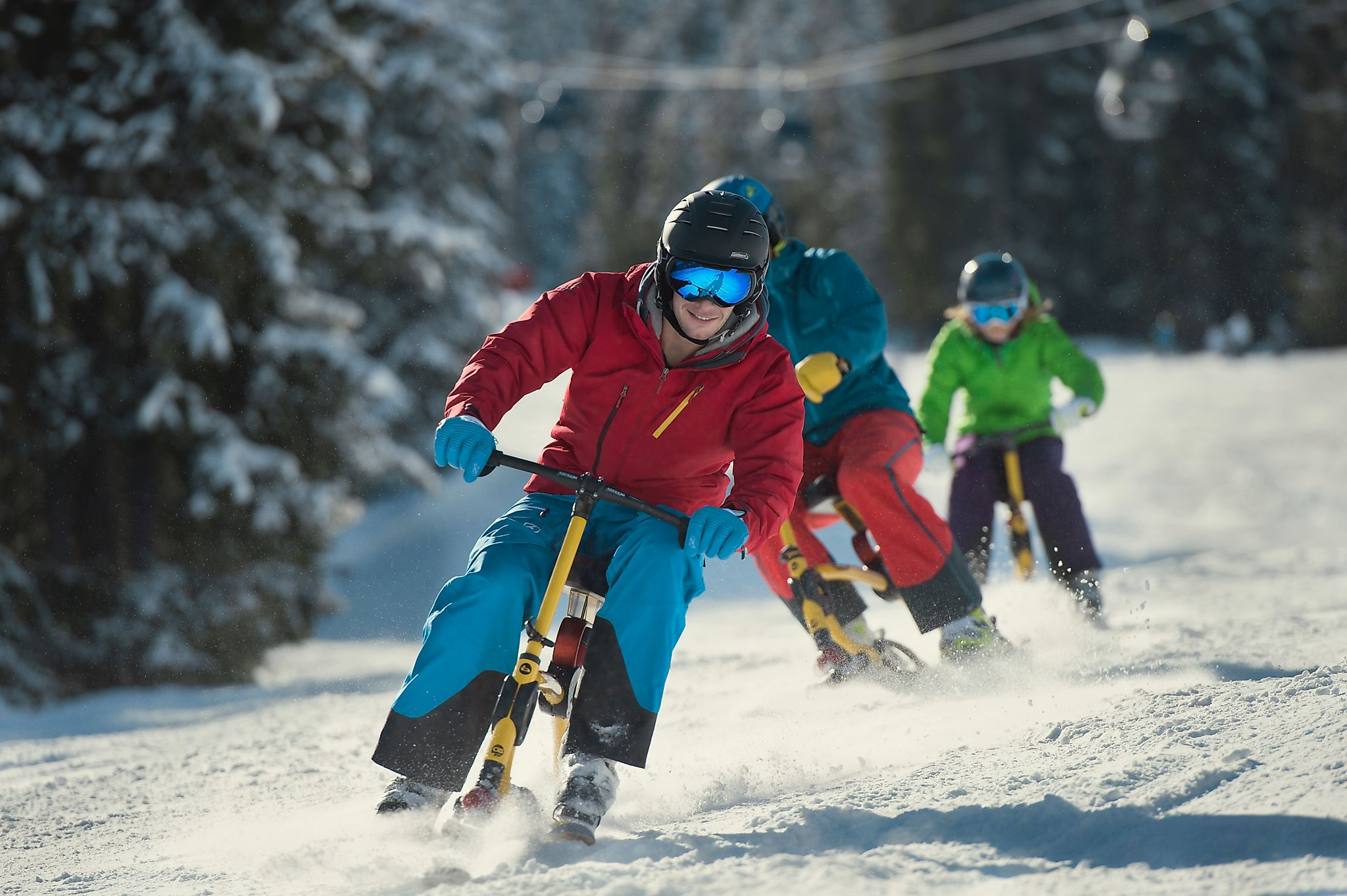 <p>Snowbiken ist eine geniale Alternative für ultimativen Pistenspaß.</p>