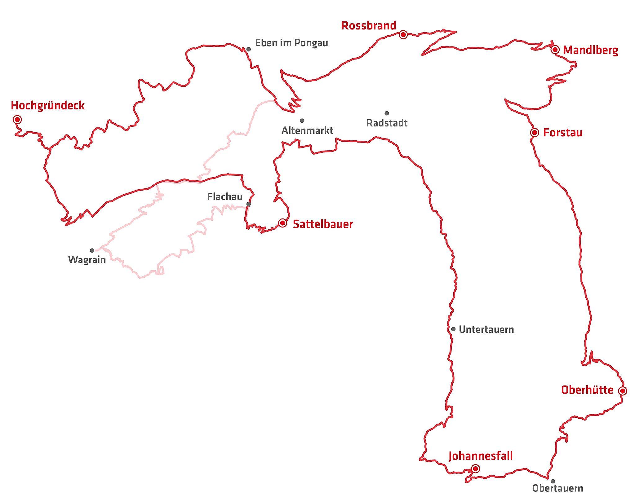 <p>Mit dieser Skizze bekommt ihr einen Überblick über den Verlauf der Stoneman Taurista Strecke in der C-Edition</p>