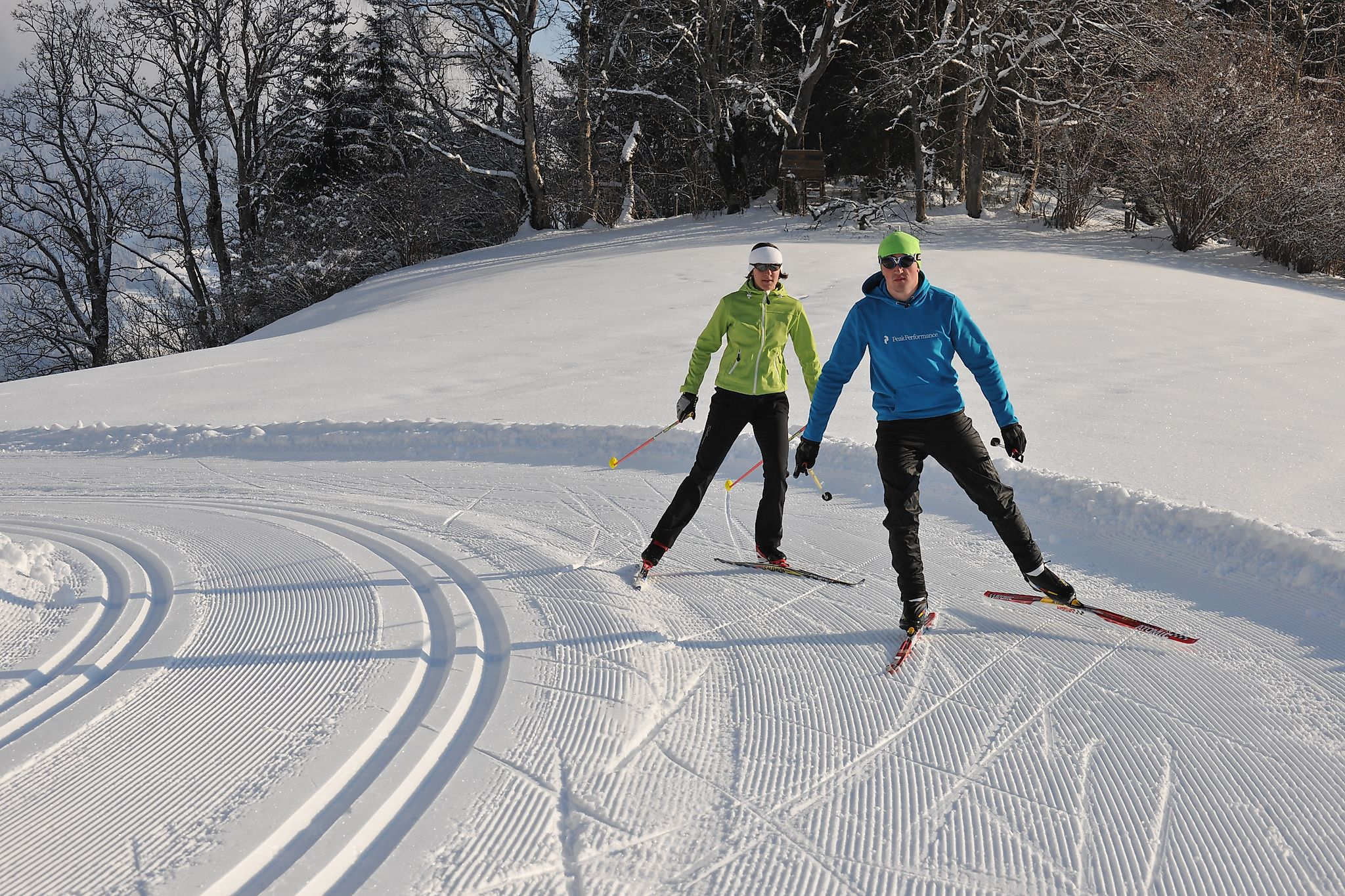 <p>Flachau offers a wide network of cross-country ski tracks for classic as well as for skating fans.</p>