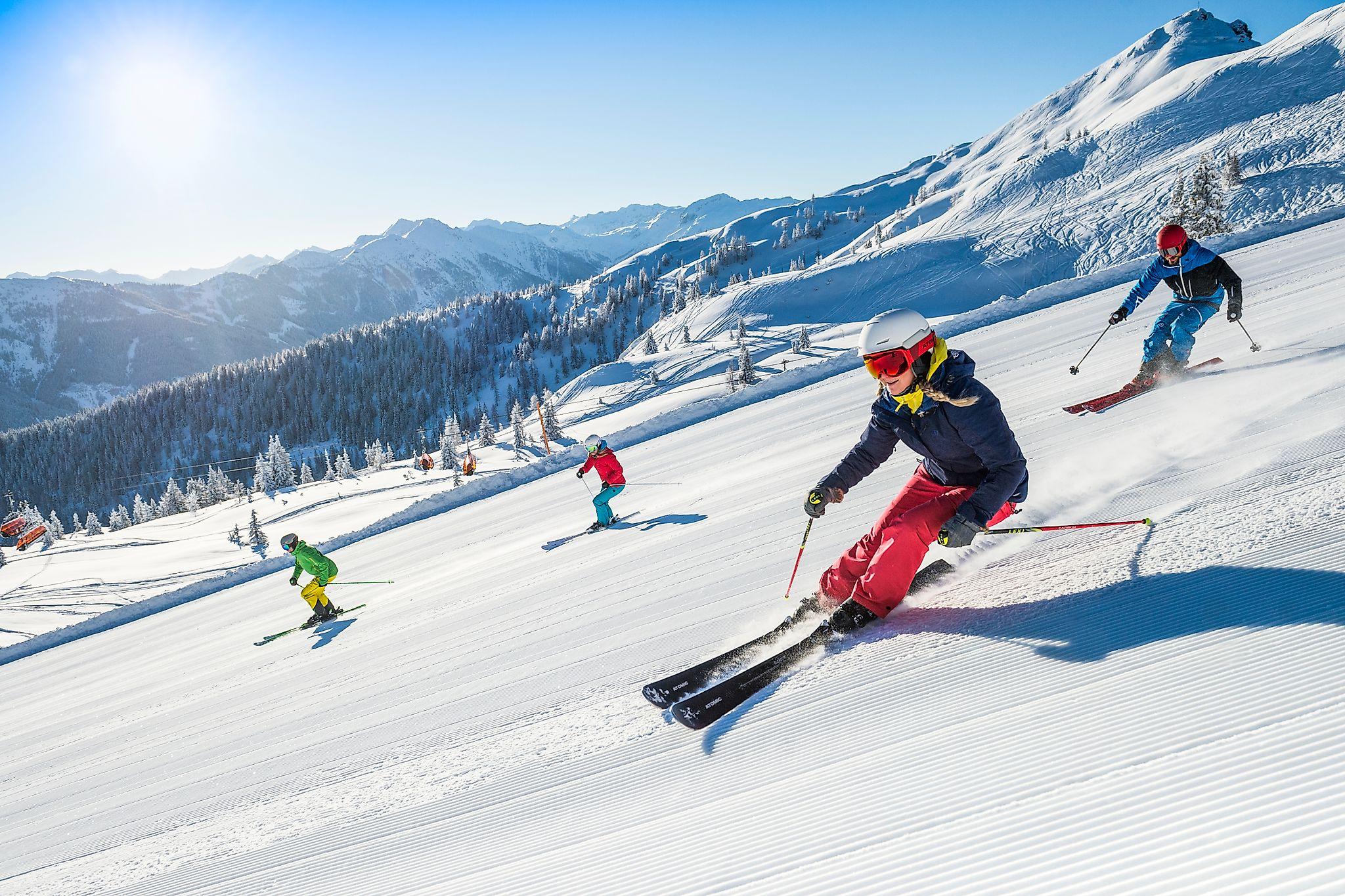 <p>Hervorragende Pistenverhältnisse erwarten euch im Snow Space Salzburg in Flachau.</p>