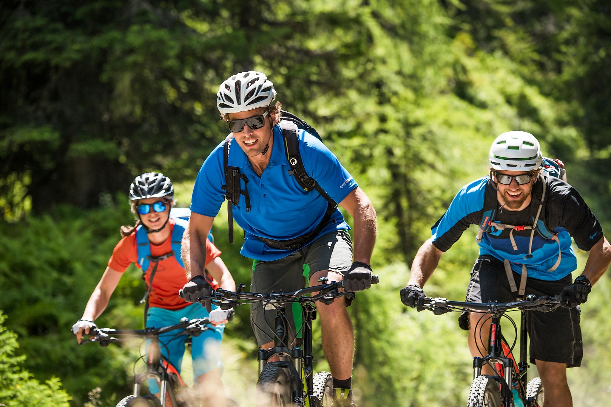 <p>Flachau bietet zahlreiche Mountainbiketouren</p>