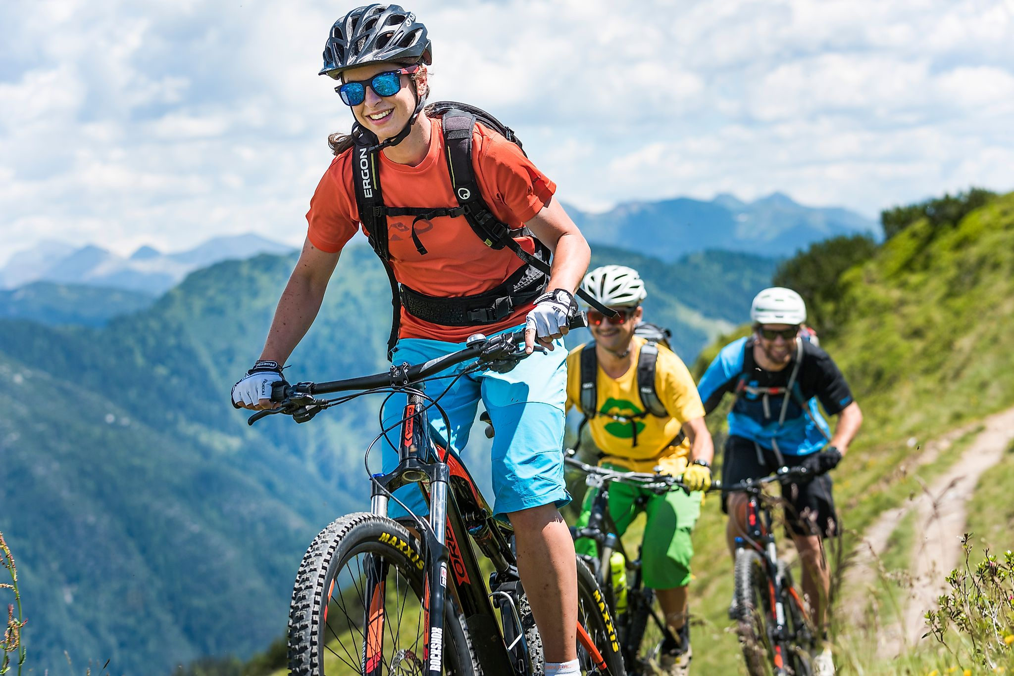 <p>Flachau - ein Paradies für alle Mountainbiker</p>